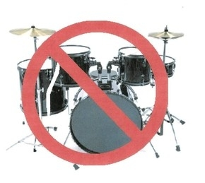STOLI HAS GOT TO KNOW WHY CLASS REUNION DECLARE 'NO DRUMS ALLOWED'